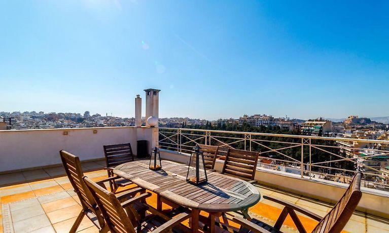 Top Floor Apartment Near Acropolis Atenas